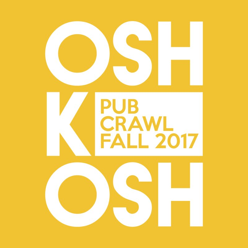 oshKosh (Multiple Colors) Men's Classic T-Shirt by Oshkosh Pub Crawl