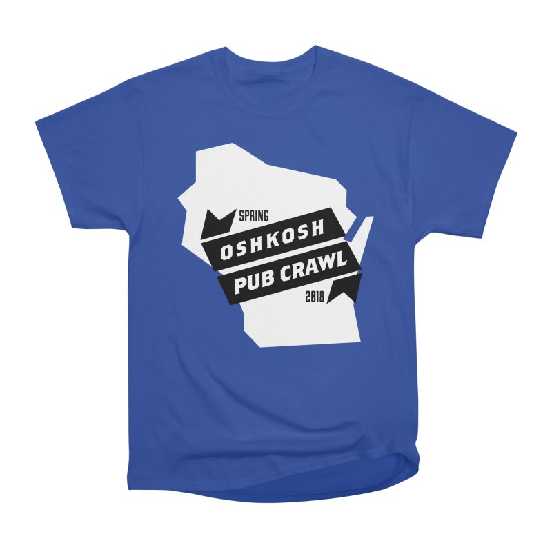 State of Mind in Men's Heavyweight T-Shirt Royal Blue by Oshkosh Pub Crawl