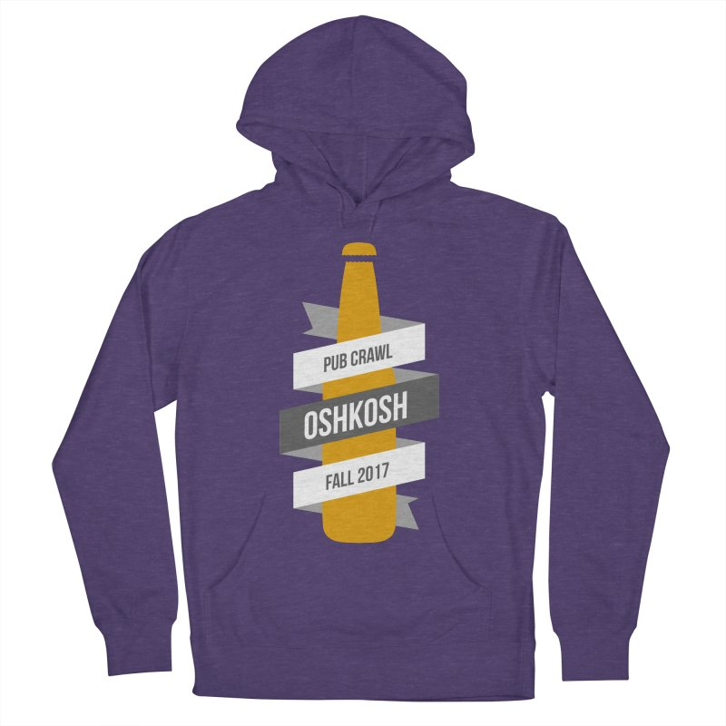 Bottle (Multiple Colors) in Men's Pullover Hoody Heather Purple by Oshkosh Pub Crawl