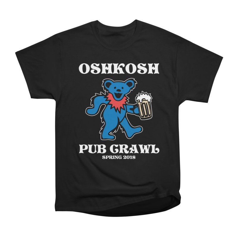 Grateful To Crawl in Men's Heavyweight T-Shirt Black by Oshkosh Pub Crawl