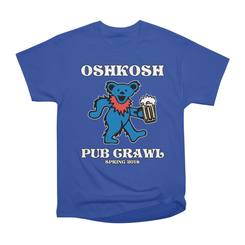Grateful To Crawl Men's Heavyweight T-Shirt by Oshkosh Pub Crawl