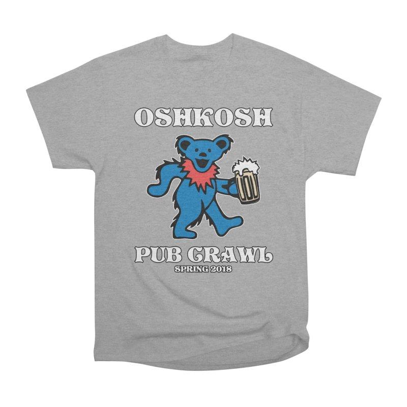 Grateful To Crawl Men's Heavyweight T-Shirt by Oshkosh Pub Crawl