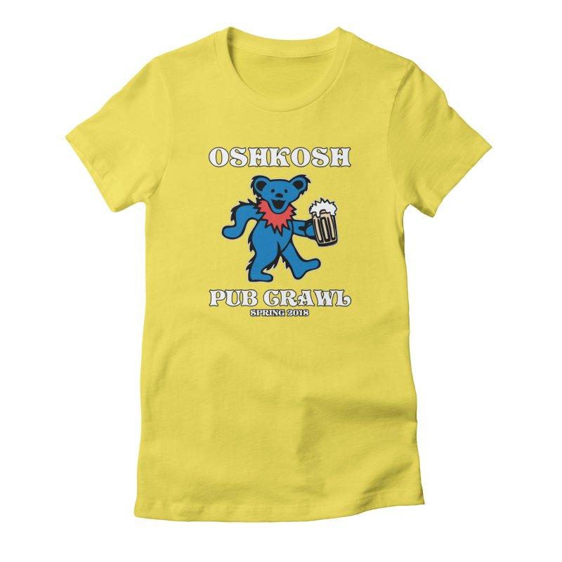 Grateful To Crawl Women's T-Shirt by Oshkosh Pub Crawl