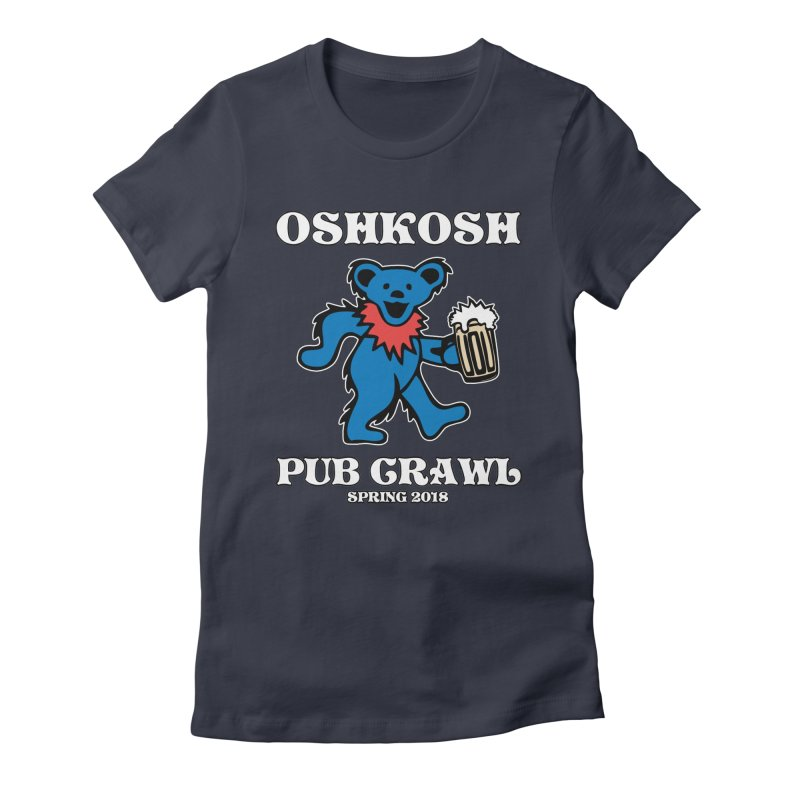 Grateful To Crawl Women's T-Shirt by Oshkosh Pub Crawl