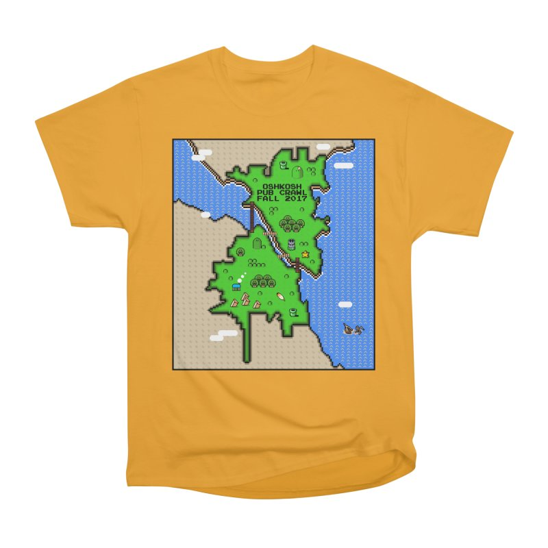16 bits (Multiple Colors) Women's Classic Unisex T-Shirt by Oshkosh Pub Crawl