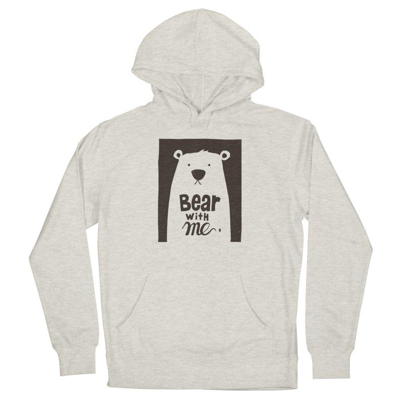 Bear With Me Women's Pullover Hoody by osinnowo's Artist Shop
