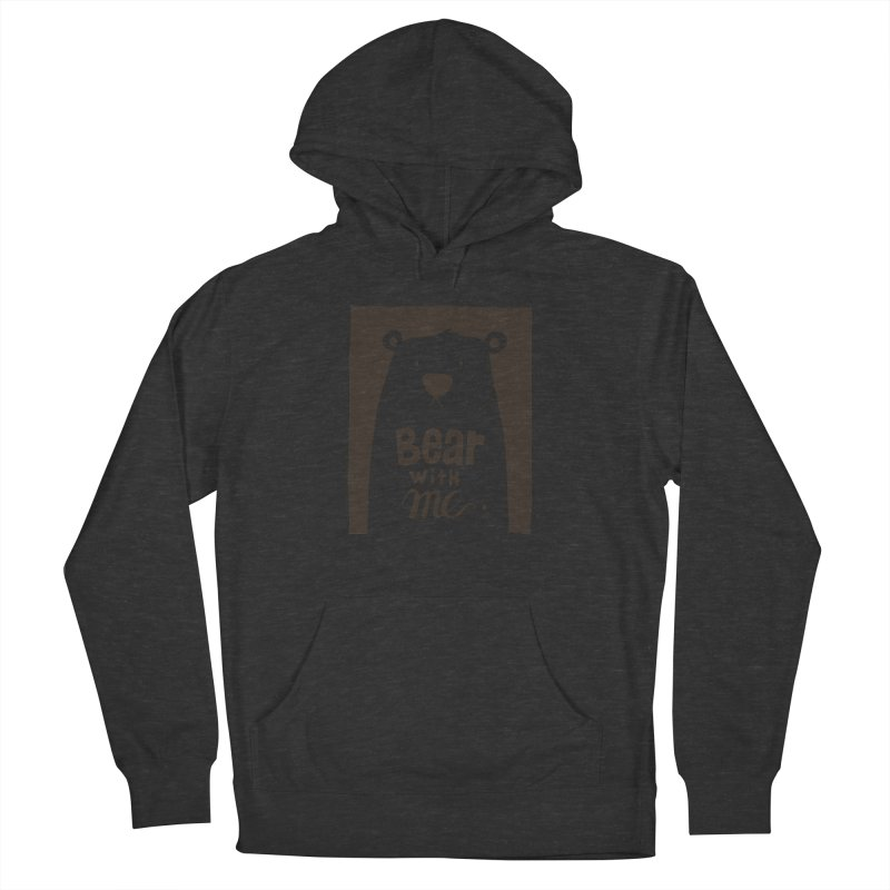 Bear With Me Men's Pullover Hoody by osinnowo's Artist Shop