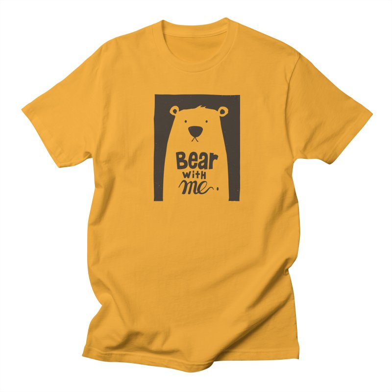 Bear With Me Men's T-shirt by osinnowo's Artist Shop