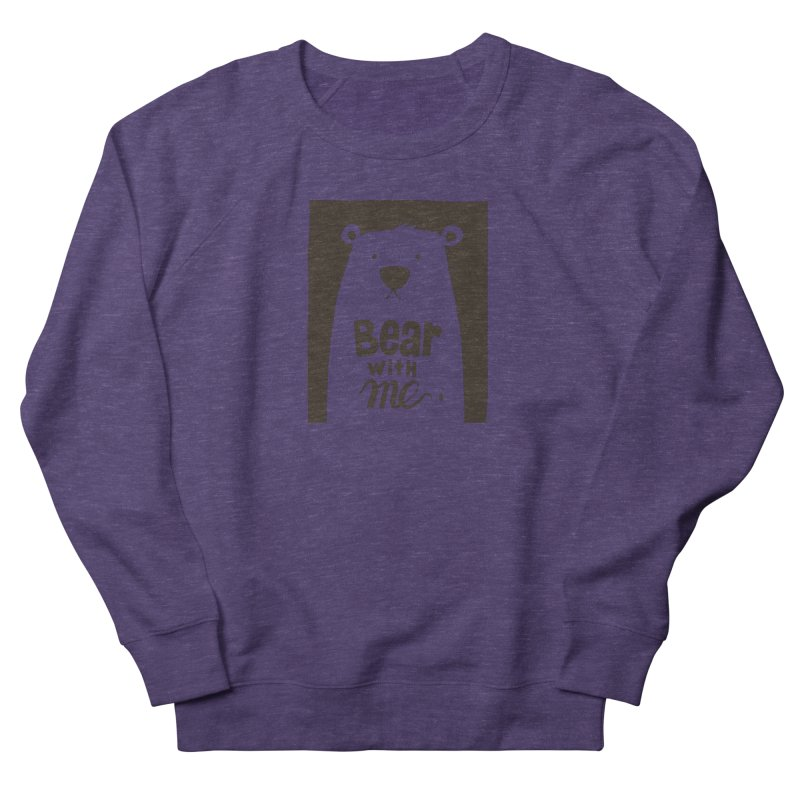 Bear With Me Men's Sweatshirt by osinnowo's Artist Shop