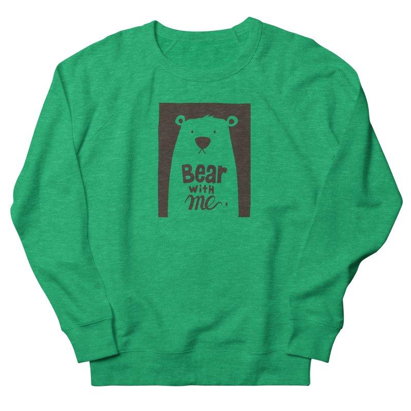 Bear With Me Men's Sweatshirt by osinnowo's Artist Shop