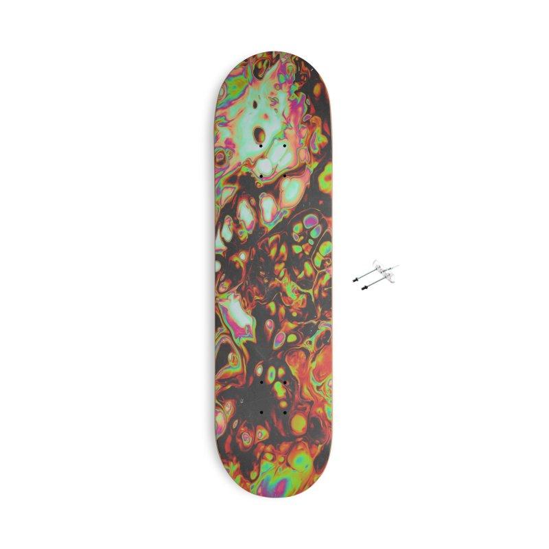 THE MEDIUM & THE ENGINEER Accessories Skateboard by oslonovak's Artist Shop
