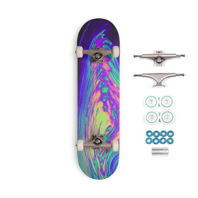 NO CHURCH IN THE WILD Accessories Skateboard by oslonovak's Artist Shop