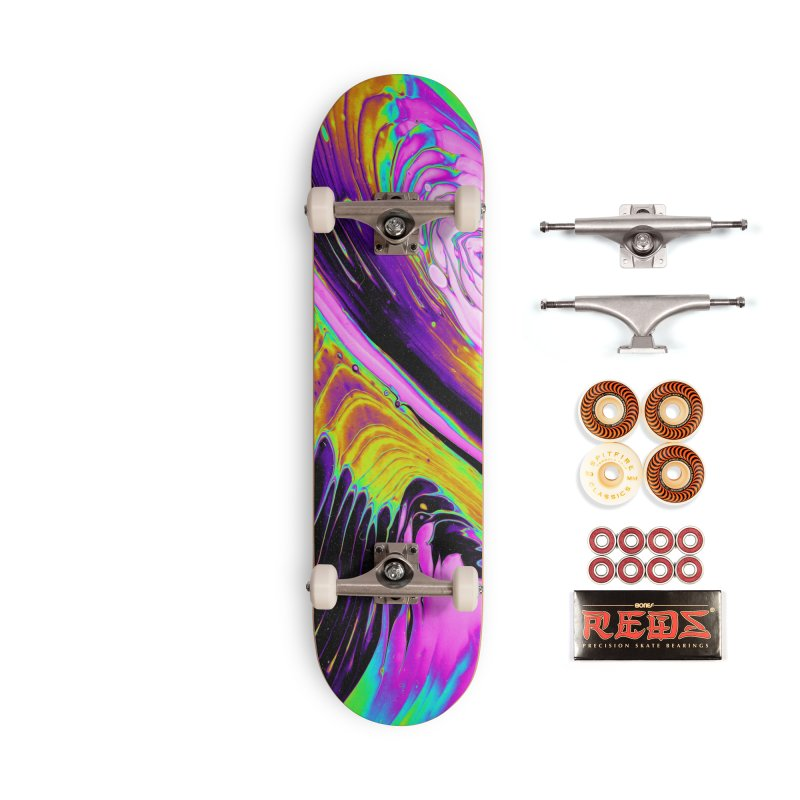 TRAPPED PACKAGE Accessories Skateboard by oslonovak's Artist Shop