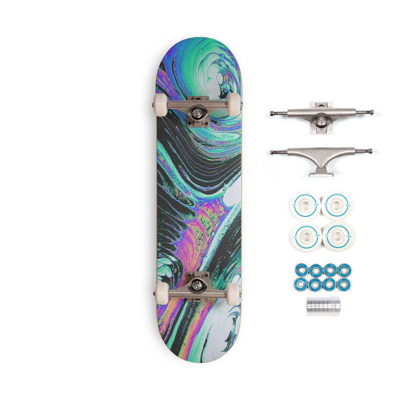 NIGHTCALL Accessories Skateboard by oslonovak's Artist Shop