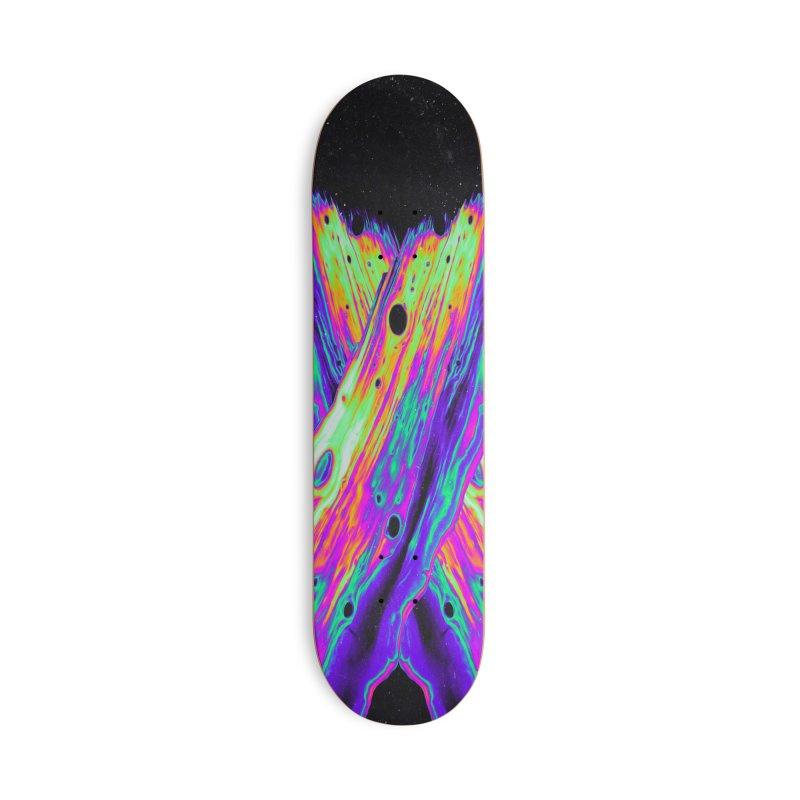 RADIOACTIVE DESPAIR Accessories Skateboard by oslonovak's Artist Shop