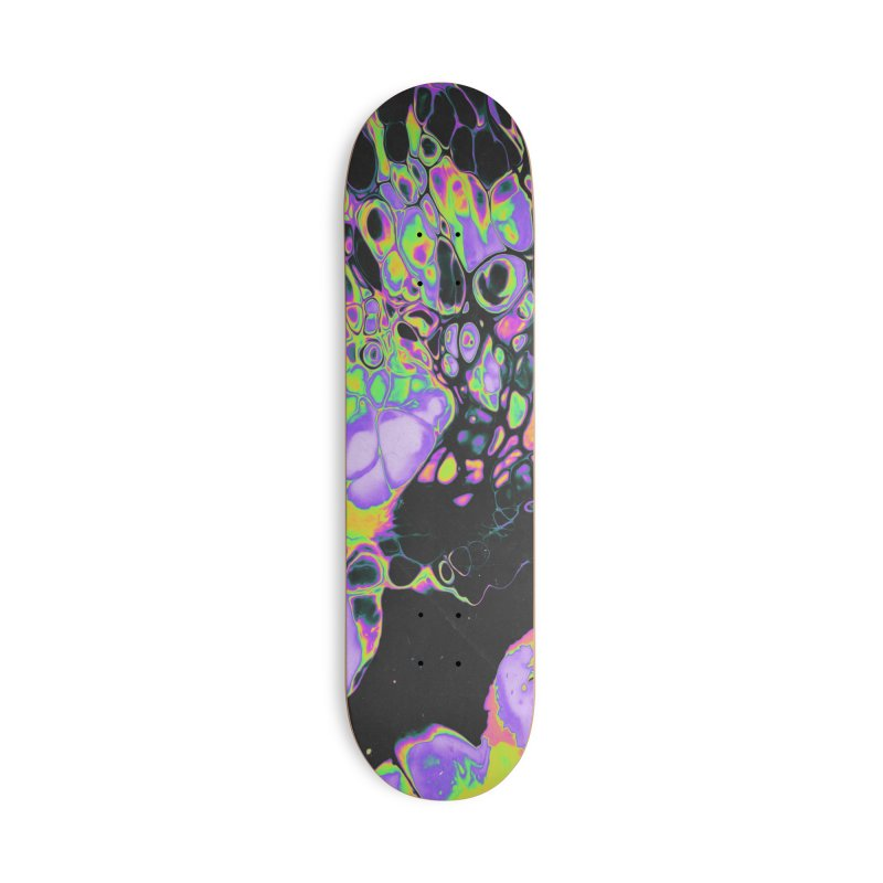 ALL THIS PAIN IS AN ILLUSION Accessories Skateboard by oslonovak's Artist Shop