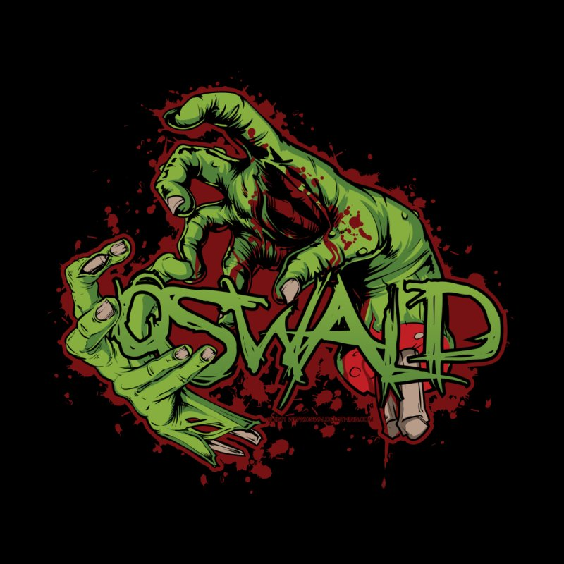 Oswald Zombie  Throwdown by Oswald Clothing