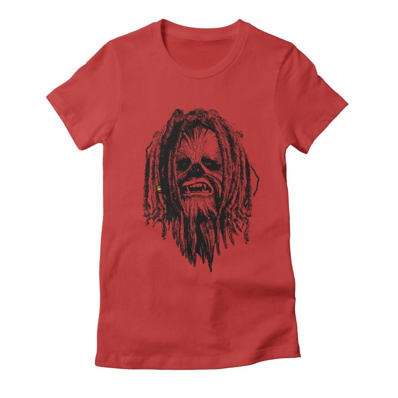 I don´t care about the empire Women's Fitted T-Shirt by ouno