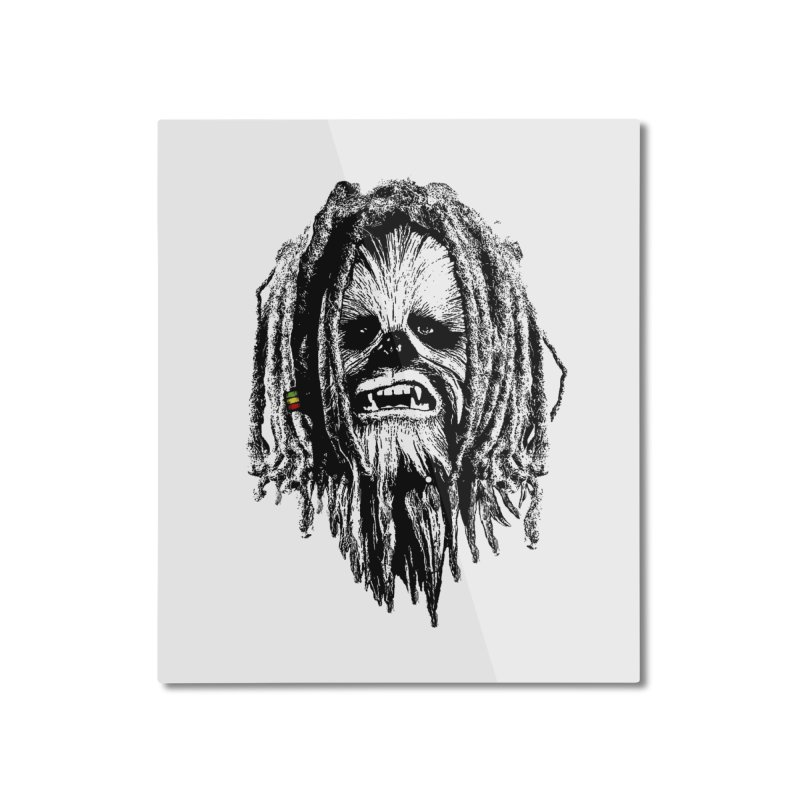 I don´t care about the empire Home Mounted Aluminum Print by ouno