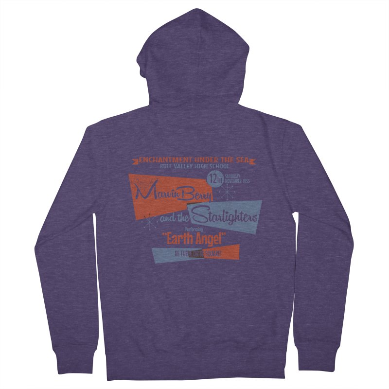 Marvin Berry & the Starlighters Men's Zip-Up Hoody by ouno