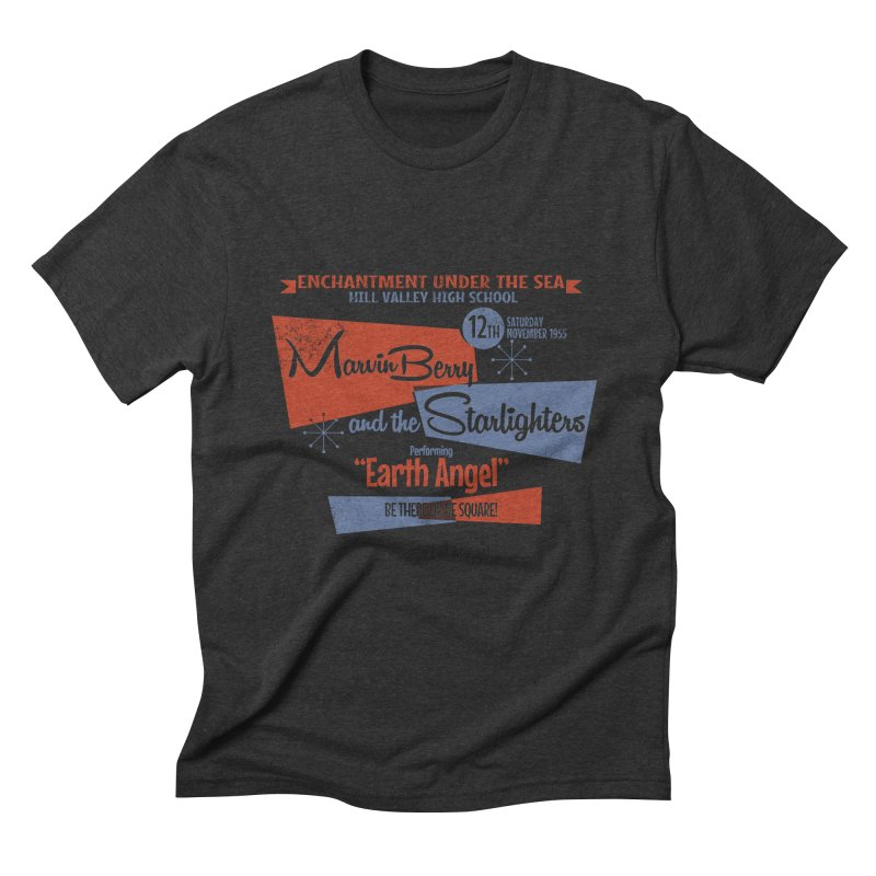 Marvin Berry & the Starlighters Men's Triblend T-shirt by ouno
