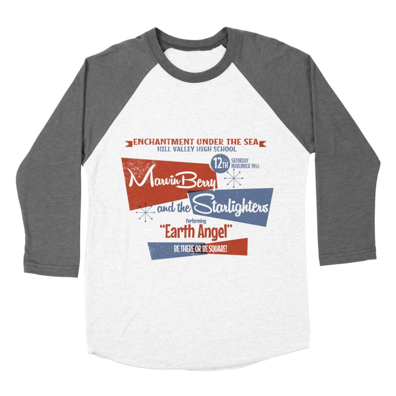Marvin Berry & the Starlighters Women's Baseball Triblend T-Shirt by ouno