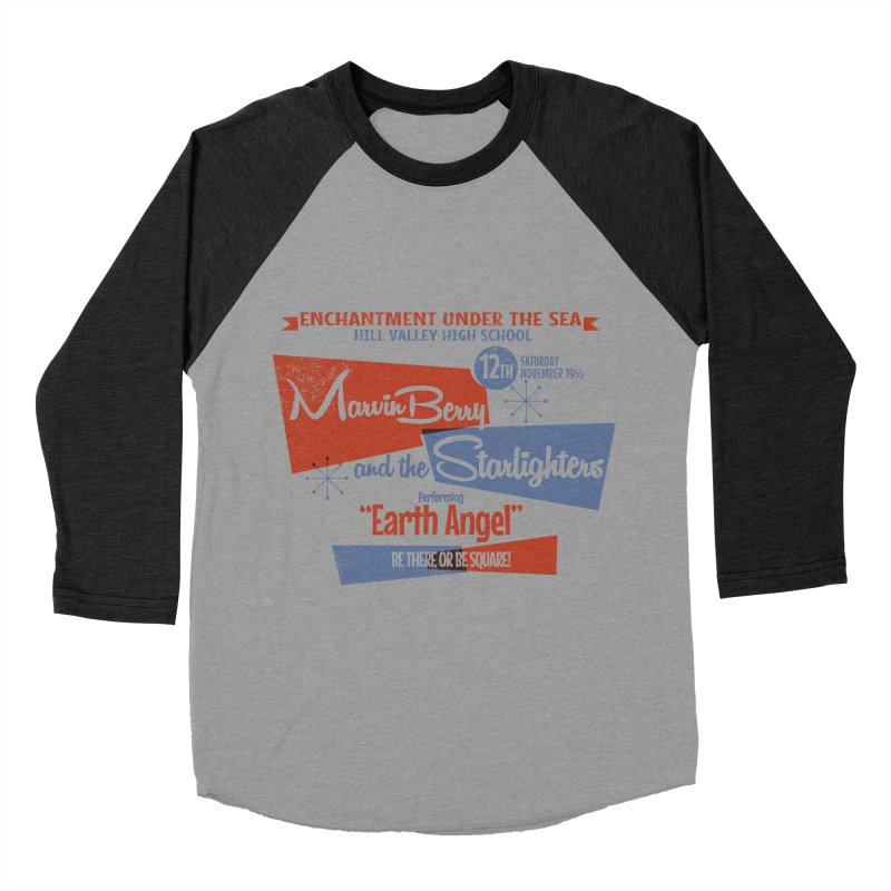 Marvin Berry & the Starlighters Men's Baseball Triblend T-Shirt by ouno
