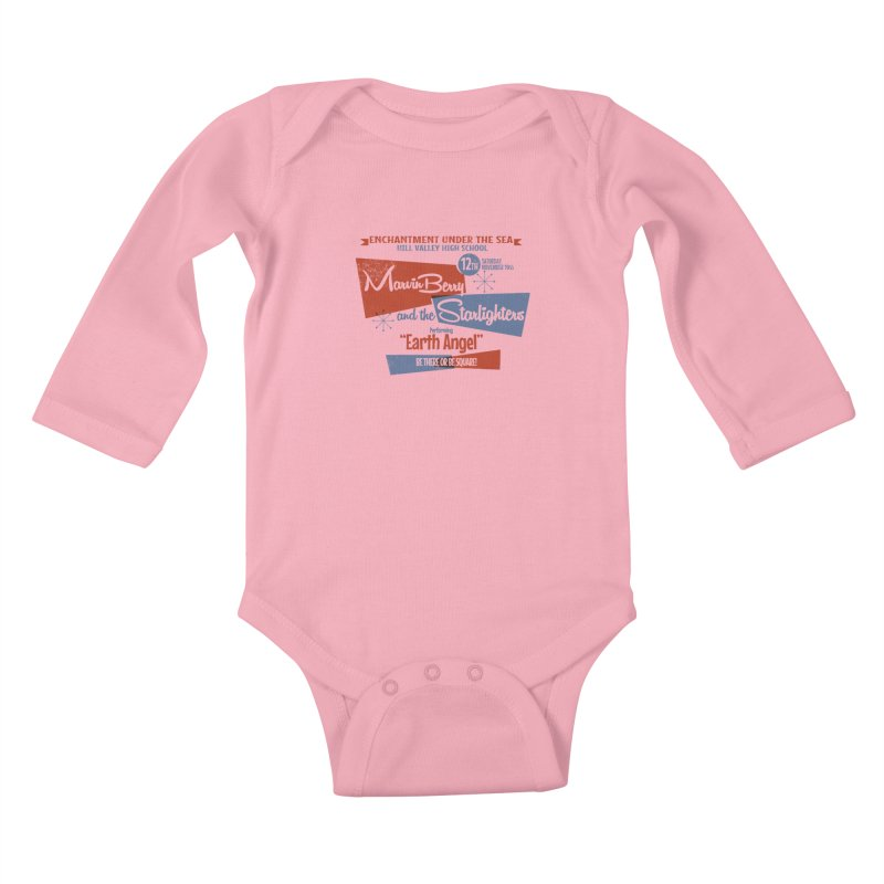 Marvin Berry & the Starlighters Kids Baby Longsleeve Bodysuit by ouno