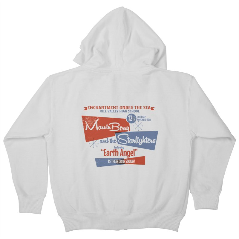 Marvin Berry & the Starlighters Kids Zip-Up Hoody by ouno