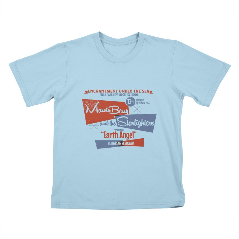 Marvin Berry & the Starlighters Kids T-shirt by ouno