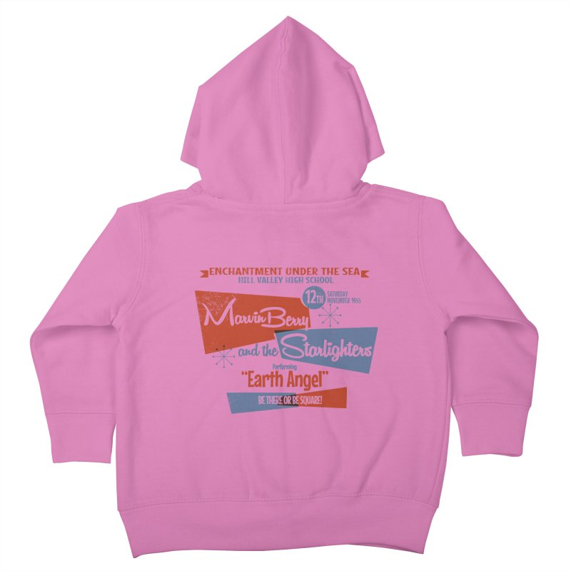 Marvin Berry & the Starlighters Kids Toddler Zip-Up Hoody by ouno