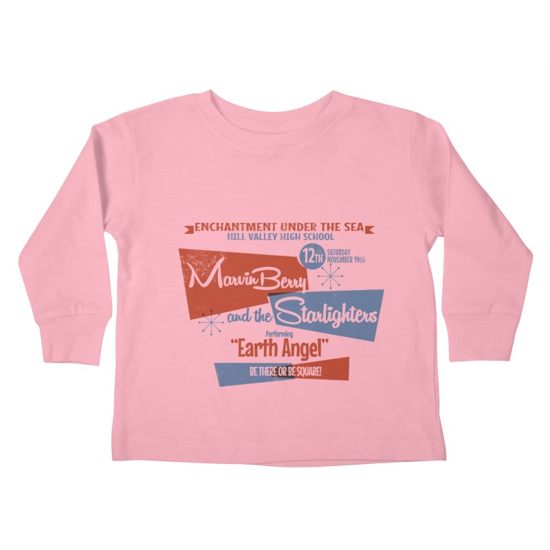 Marvin Berry & the Starlighters Kids Toddler Longsleeve T-Shirt by ouno