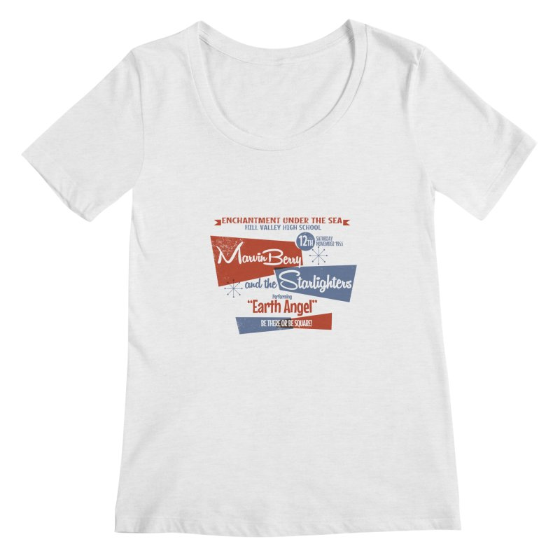 Marvin Berry & the Starlighters Women's Scoopneck by ouno