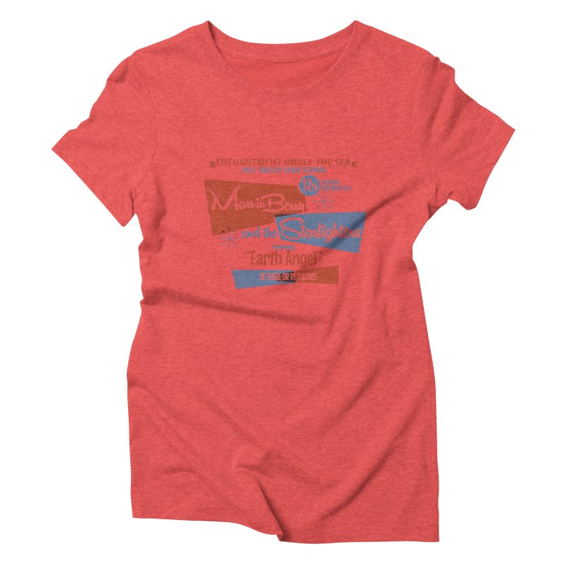 Marvin Berry & the Starlighters Women's Triblend T-shirt by ouno