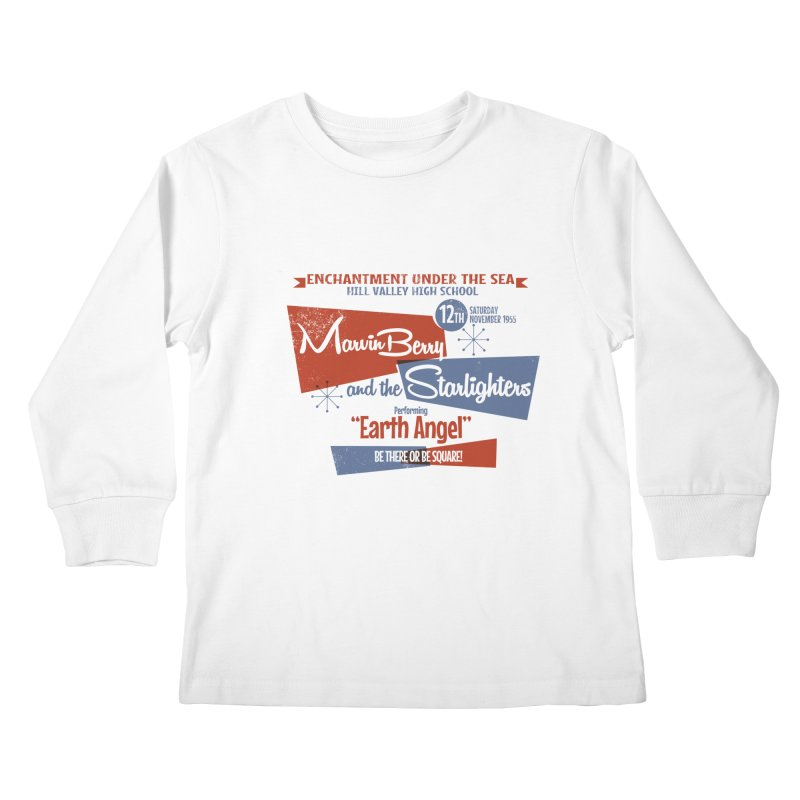 Marvin Berry & the Starlighters Kids Longsleeve T-Shirt by ouno