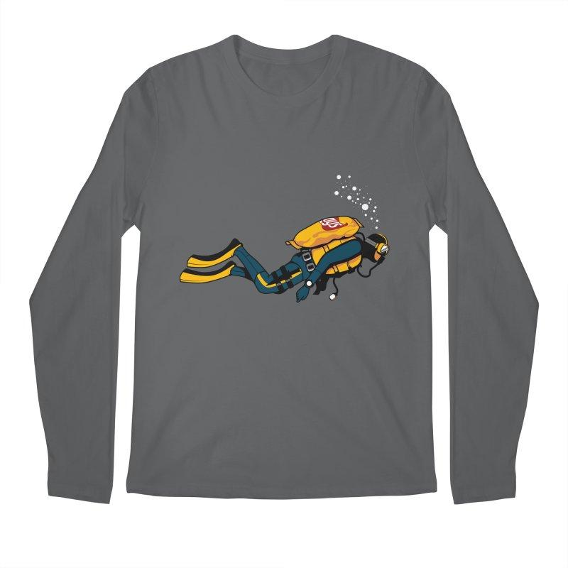 70% Air Men's Longsleeve T-Shirt by ouno