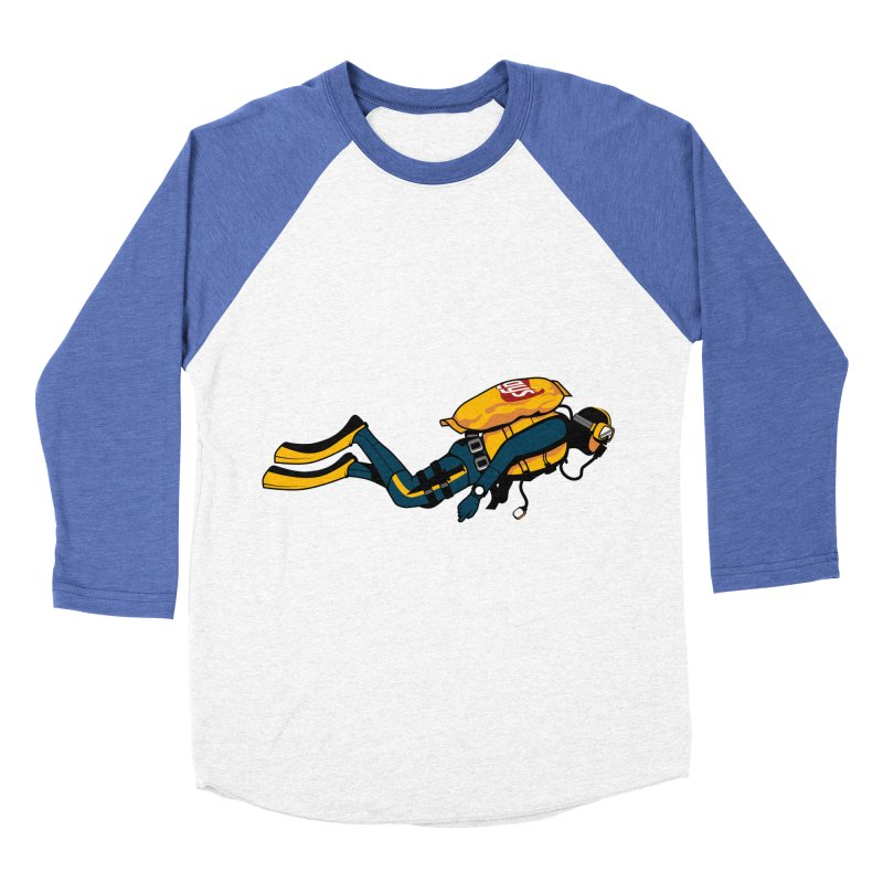 70% Air Men's Baseball Triblend T-Shirt by ouno