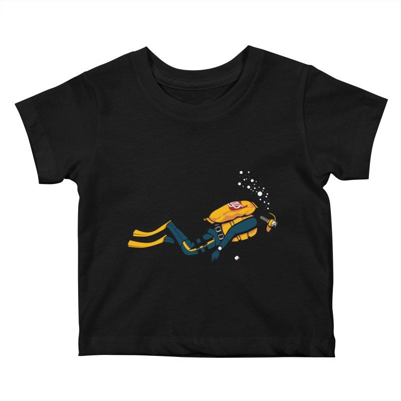 70% Air Kids Baby T-Shirt by ouno