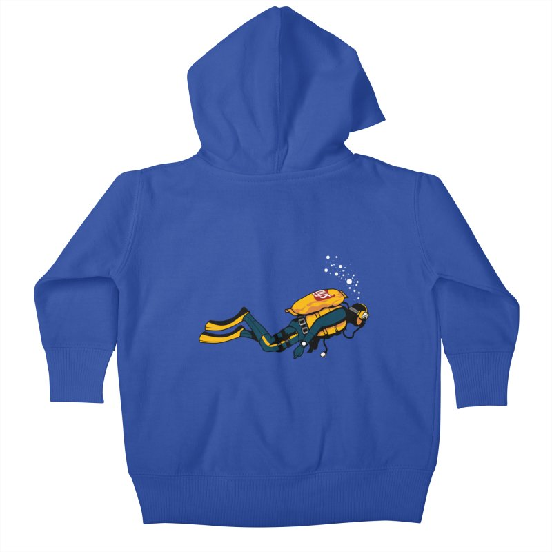 70% Air Kids Baby Zip-Up Hoody by ouno
