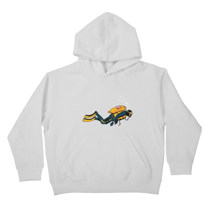 70% Air Kids Pullover Hoody by ouno