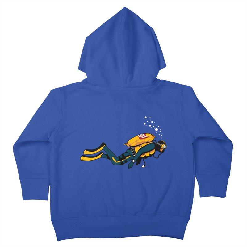 70% Air Kids Toddler Zip-Up Hoody by ouno
