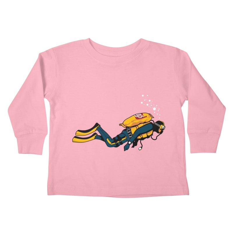 70% Air Kids Toddler Longsleeve T-Shirt by ouno