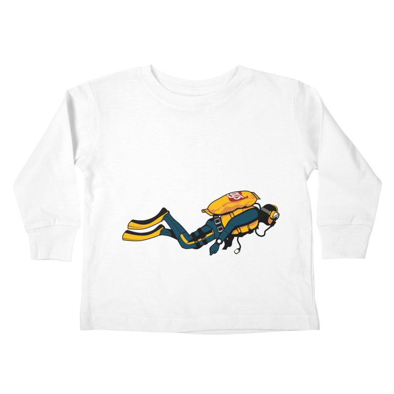 70% Air Kids Toddler Longsleeve T-Shirt by ouno