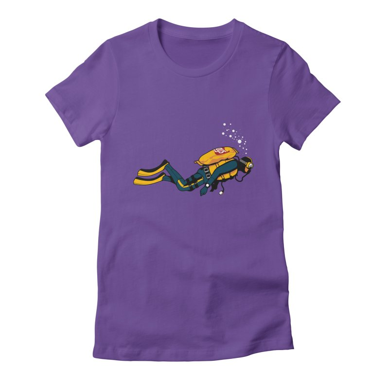 70% Air Women's Fitted T-Shirt by ouno