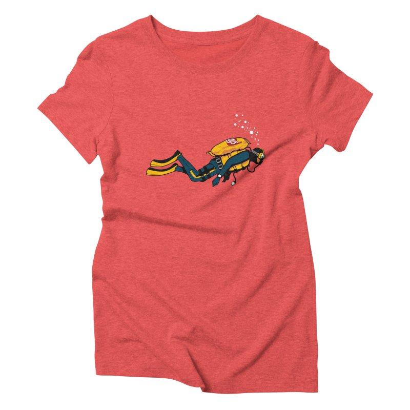 70% Air Women's Triblend T-Shirt by ouno