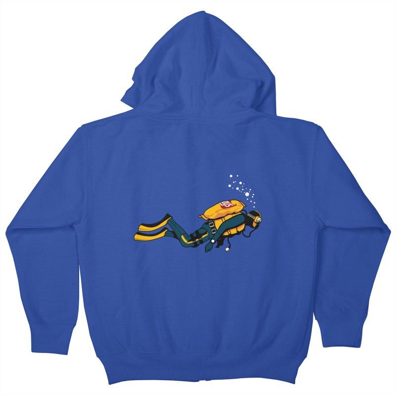 70% Air Kids Zip-Up Hoody by ouno