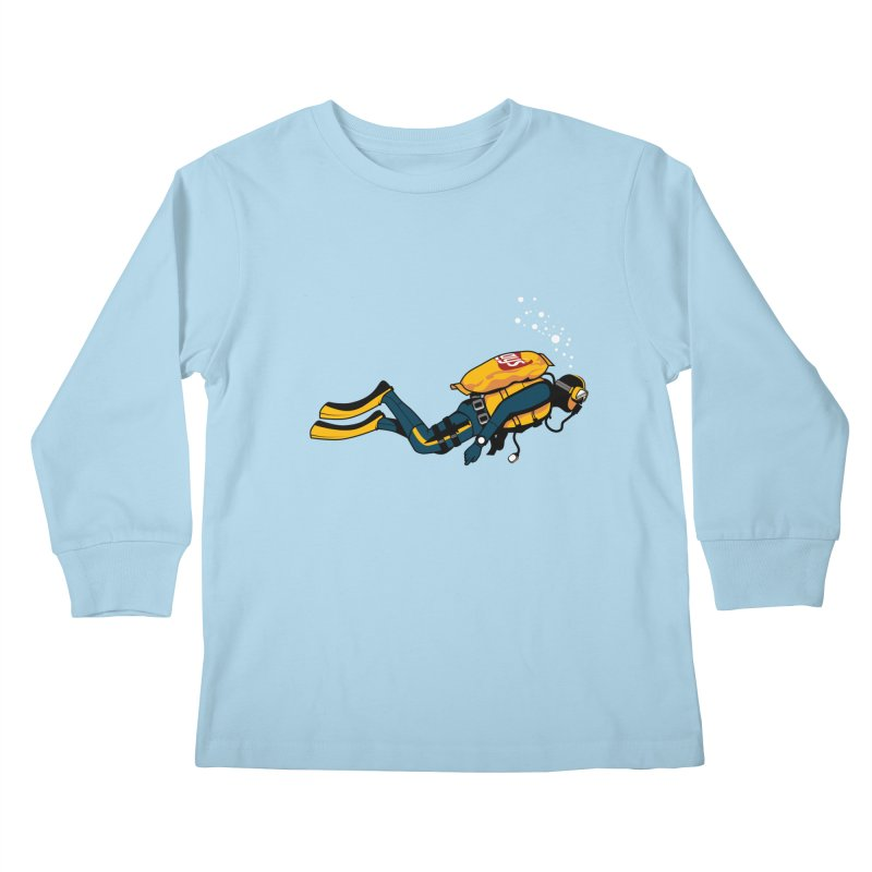 70% Air Kids Longsleeve T-Shirt by ouno