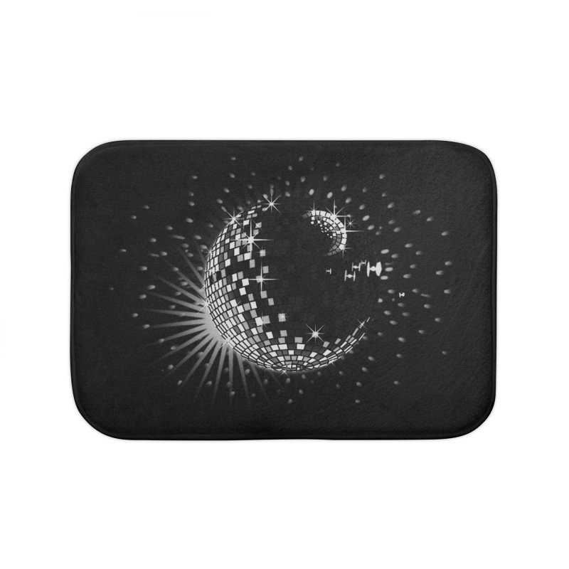 Darkside of Disco Home Bath Mat by ouno