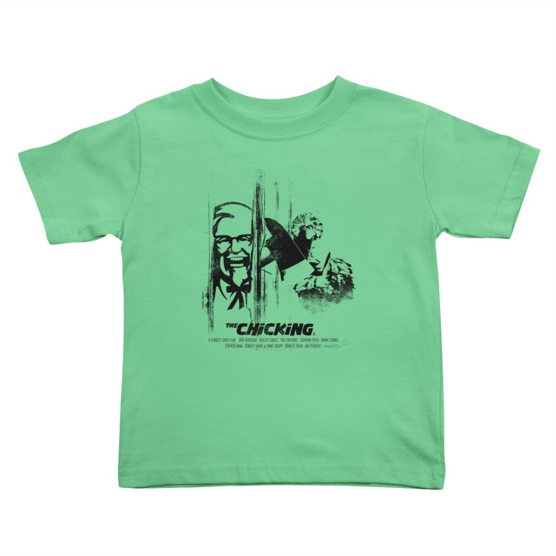 The Chicking Kids Toddler T-Shirt by ouno