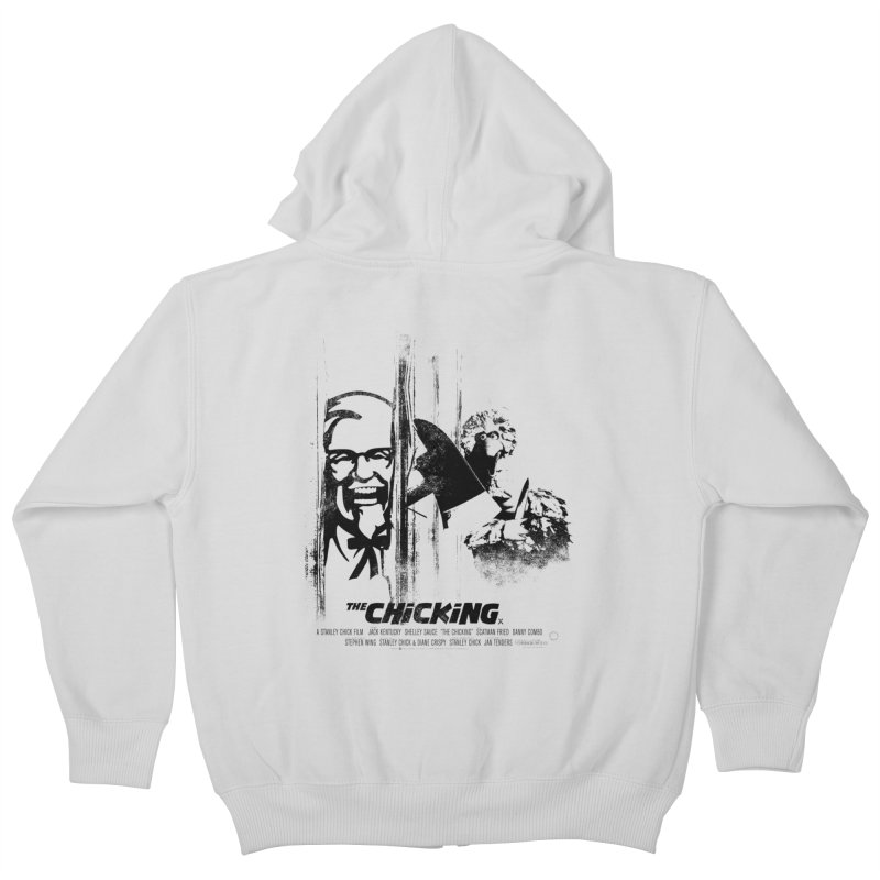 The Chicking Kids Zip-Up Hoody by ouno